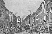 Tooley Street, London, c1840