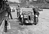 JCC Double Twelve race, Brooklands, May 1931