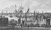Light House & Pier, 1820