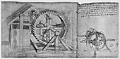 A Large Wheel that Four Crossbows in Succession, c1480