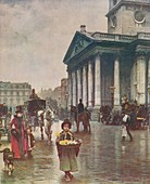 St Martins-in-the-Fields, 1888, (c1915)