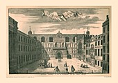 Prospect of the London Guild Hall, 1755, (1886)