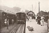 Alto da Serra: Petropolis - Leopoldina Railway, 1914