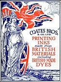 Advert For Coates Bros & Co, 1917