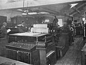 Portion of Machine Room, 1916