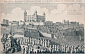 Execution of the Earl of Strafford, c1641, (1903)
