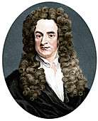 Isaac Newton, English mathematician, astronomer, physicist