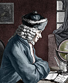 Voltaire, French author, playwright and satirist