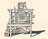 Ribbon Weaver at His Loom, 1747, (1904)