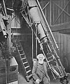 Observatory of Sir William Huggins, Tulse Hill, 1904