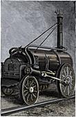 George Stephenson's locomotive 'Rocket', 1829 (1892)