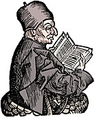 The Venerable Bede, Anglo-Saxon theologian and historian