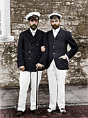 Tsar Nicholas II and King George V