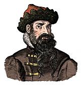 Johann Gutenberg, German metalworker and inventor