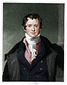 Humphry Davy, English chemist, (1833)