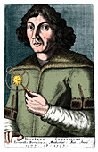 Nicolas Copernicus, Polish astronomer and mathematician