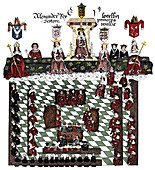 Parliament of Edward I, 13th century, (c1905)