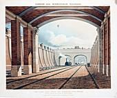 View Taken from Under the Hampstead Road Bridge