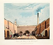 Entrance of the Railway at Edge Hill, Liverpool, 1831