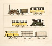 Coaches Employed on the Railway, 1831