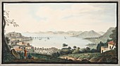 View taken from Accademia near Puzzoli, 1776