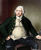 Richard Arkwright, British industrialist and inventor