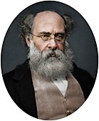 Anthony Trollope, writer, 1878