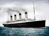 RMS 'Olympic', White Star Line ocean liner, 1911-1912