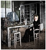 Marie Curie, Polish-born French physicist, c1920