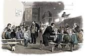 Ragged School Union school, Lambeth, London, 1868