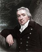 Edward Jenner, English physician, 1837