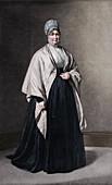 Mrs Elizabeth Fry (1780-1845), c1843, (1912)