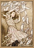 Alice's Adventures in Wonderland, colour lithograph