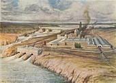 Paper Mills, Newfoundland, 1916