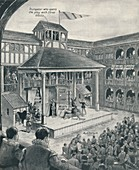 'A London Theatre in Shakespeare's Time', c1934