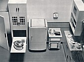 View of a kitchen, 1938