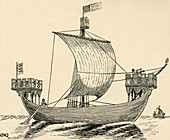 A Ship of the time of Edward I