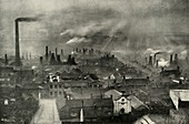 A Factoryscape in the Potteries, (1938)