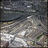 Temple Meads Railway Station, Bristol, UK, 1975