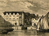 Bridewell in 1666, illustration