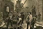The Last of Temple Bar, 1877 illustration