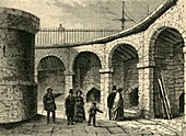 The Tower Menagerie about 1820, c1872