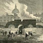 The Last Remains of the Fleet Prison, c1872