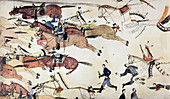 Battle of Little Bighorn, Montana, USA, 25-26 June 1876