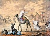 A Sand Wind on the Desert, 1821