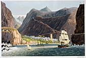 The Roads, St Helena, 1815