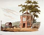 Tyburn turnpike, London, 1812
