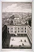 St Thomas's Hospital in Southwark, London, c1825