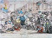 Miseries of London, 1807