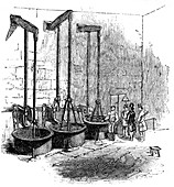 The Woolwich blowing machine, 1886